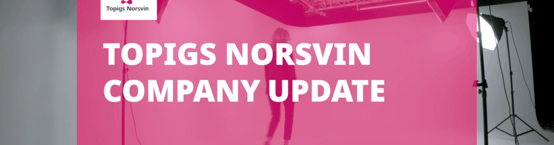 Topigs Norsvin company update edition Summer 2020